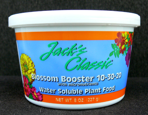 Jack's Classic Bloom Booster 10-30-20 fertilizer - Odom's Orchids, In...