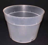 Plastic Pot Clear 6""