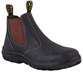 26-626 Oliver Claret Elastic Sided NON-SAFETY Boot NEW PRODUCT