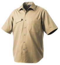 K14825 King Gee Workcool 2 Shirt S/S - Khaki