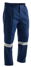 BP2715 - Stubbies Drill Workpant with 3M Reflective Tape