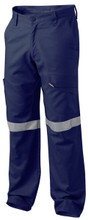 K53820 - King Gee Reflective Workcool 2 Pants with 3M Tape - Navy