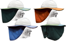 Hard Hat Shade with cloth lined brim - White, Green & Navy available