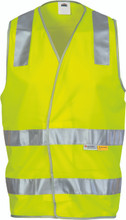 3803 Day/Night HiVis Safety Vests - Available Hi Vis Yellow; Hi Vis Orange