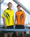 CVPAS - Visitec Charger Airwear Short Sleeve Hi Vis Polo Shirt