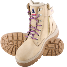 522761 Southern Cross Zip Ladies Safety Boot Sand