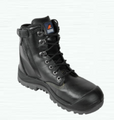 561020 Black High Ankle ZipSider Boot