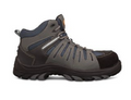 44-535 Lace Up Sports Boot, Water Resistant Nubuck Leather and Synthetic Materials,  Fully Non-Metallic