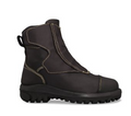 Smelter Boot with steel toe cap, Heat Resistant & Flame Retardant Leather, Internal PORON XRDÈ METguard, Quick Release Velcro Fastners, Toe Bumper Protection, Padded Comfort Collar.