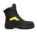 "180mm (7"") Wildland Fire Fighters Boot, Composite Toe Cap, Optional Lace In Zipper Attachment."