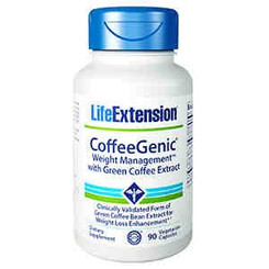 CoffeeGenic® Weight Management™ with Green Coffee Extract, 90 vegetarian capsules