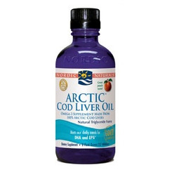 Arctic Cod Liver Oil (peach), 8 fl oz (237 ml)