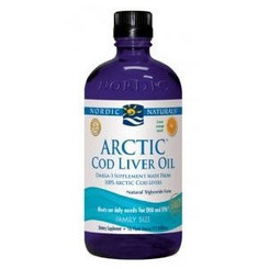 Arctic Cod Liver Oil (orange), 16 fl oz (473 ml)