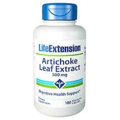 Artichoke Leaf Extract, 500 mg 180 vegetarian capsules