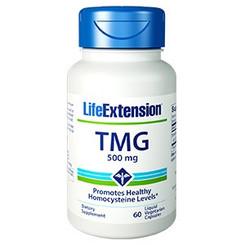 TMG, 500 mg 60 liquid vegetarian capsules