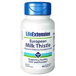 Certified European Milk Thistle, 60 vegetarian capsules