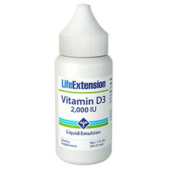 Liquid Emulsified Vitamin D3, 1 fl oz (29.57 ml)