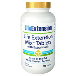 Life Extension Mix™ Tablets with Extra Niacin 315 tablets