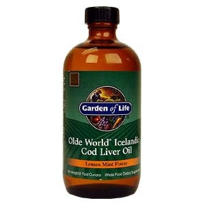 Olde World Icelandic Cod Liver Oil 8 Fl Oz 235 Ml Life Food