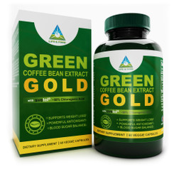 Life & Food SVETOL Green Coffee Bean Extract GOLD 50% Chlorogenic Acid