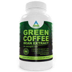Life & Food Super Pure Green Coffee Bean Extract 800 Mg Standardized to 50% Chlorogenic Acid