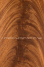Crotch Mahogany Veneer Faces With Single Leaves