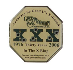 Green Mountain 2006 Limited Edition XXX Pin