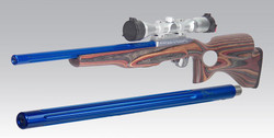 "901516 18"" 22LR Candy Blue Powder Coat Fluted Bull BBL"