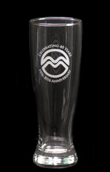University Pilsner Glass
