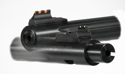 "901512 10/22 18"" .22 Caliber Fluted Bull Barrel With Fire Sights"