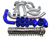 Polished Aluminum SMIC Hard Pipe kit for 3000GT VR-4 & Dodge Stealth TT