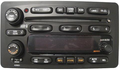 Pontiac Vibe & Toyota Matrix Replacement CD6 Faceplate - Includes Faceplate , Buttons & Circuit Board