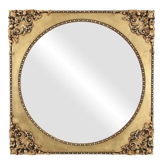 Ornate Spandrel Picture Frame in Gold Leaf
