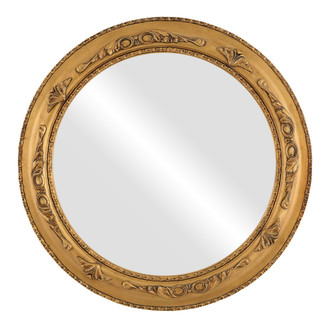 #452 Round Picture Frame with Extra Decals and Flat Mirror