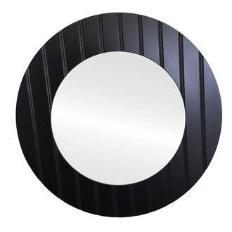 #864 Round Picture Frame with Grooves on Face