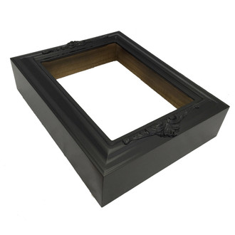 #451 Rectangle Shadowbox in Gloss Black
