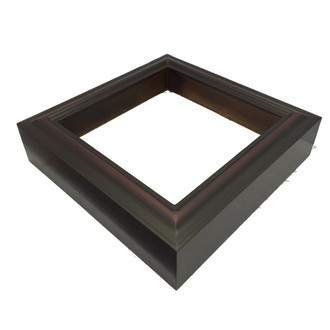 #450 Rectangle Shadowbox in Rosewood