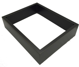 Rectangle Shadowbox in Rubbed Black