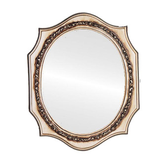 609 Oval Silver with Flat Mirror