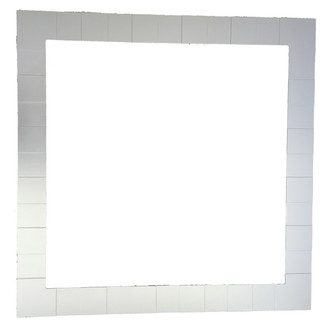 Rectangle Frame with Layered Flats