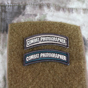Combat Photographer Shoulder Tab Patch
