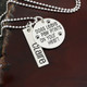 Personalize your necklace with a name bar
