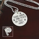 """Sterling Silver """"Dogs Leave Paw Prints On Your Heart"""" Necklace"""