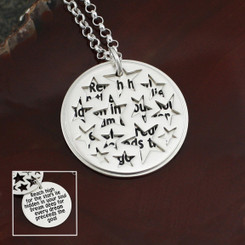 Reach High Inspirational Necklace