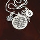 Pet Lover's memorial necklace with additional charms