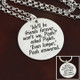 We'll Be Friends Forever  Necklace