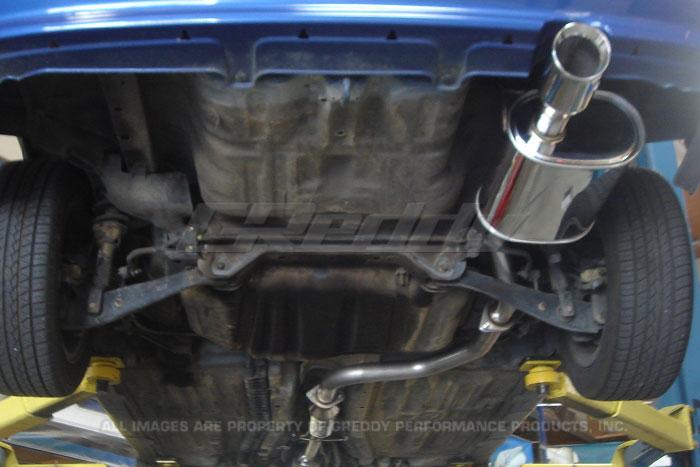 Honda Prelude Cat Back Exhaust