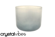 "10"" Translucent Blue Tourmaline Fusion Crystal Singing Bowl"