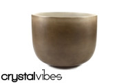 "10"" Empyrean Smokey Quartz Crystal Singing Bowl"