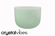 "10"" Empyrean Emerald Quartz Crystal Singing Bowl"